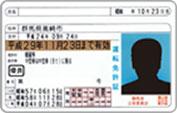 運転免許証のイメージ画像