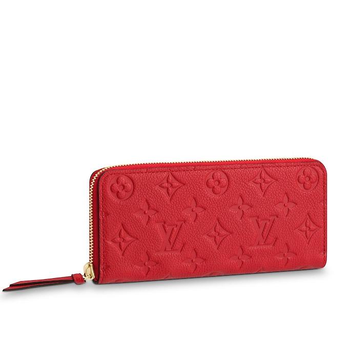 1、長財布「ポルトフォイユ・クレマンス」のイメージ画像