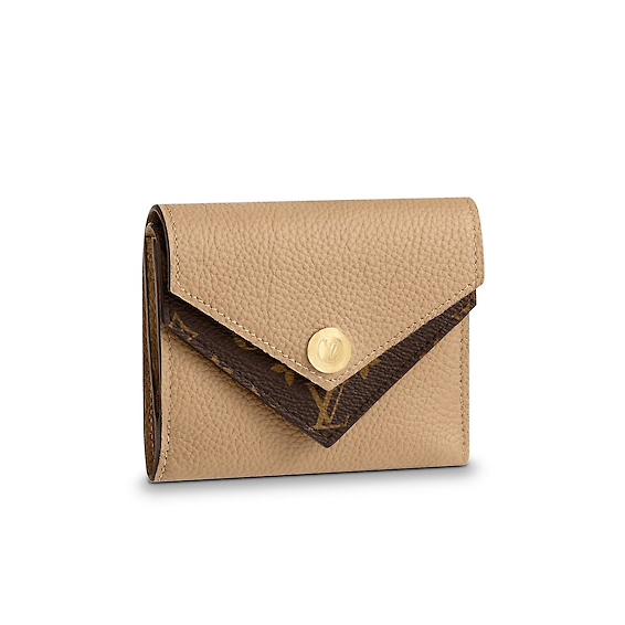 3、折り畳み財布 ポルトフォイユ・ドゥブルV モノグラムのイメージ画像