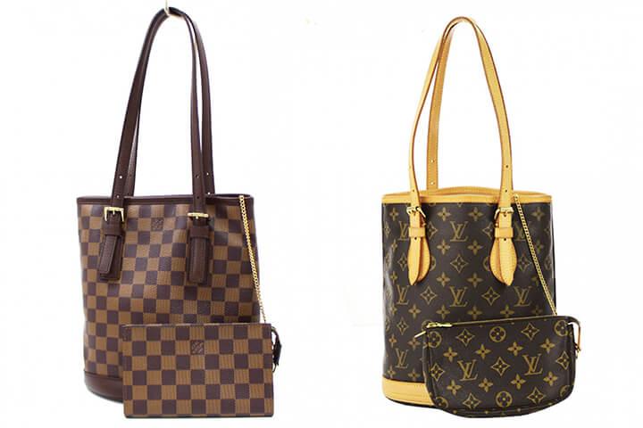 Louis Vuitton(ルイヴィトン)の「バケツ」を少しでも高く買い取ってもらうコツのイメージ画像