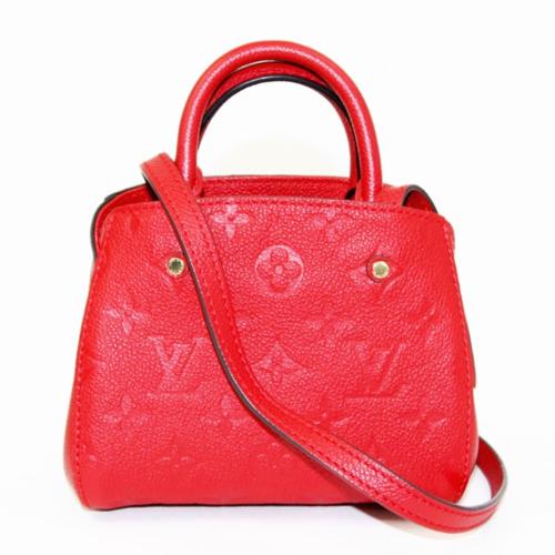 銀座店でルイヴィトンのモノグラム,アンプラントシリーズのハンドバッグを買取しました。のサムネイル画像